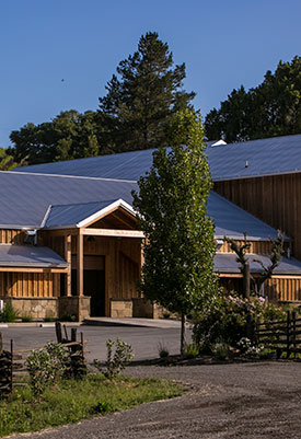 Our Anderson Valley winery awaits!