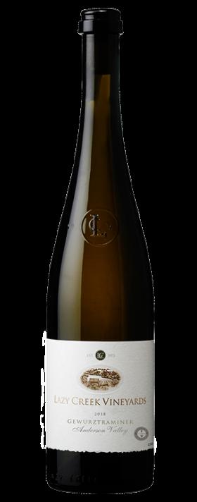 Lazy Creek Vineyards Gewürztraminer Bottle